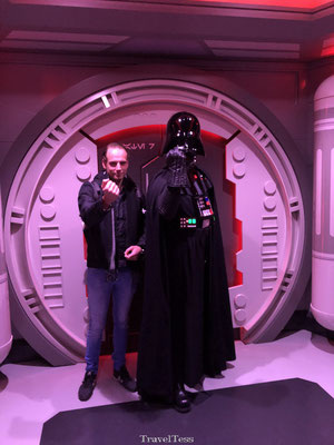 Darth Vader in Disneyland Parijs