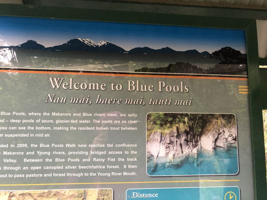 Blue Pools Nieuw-Zeeland