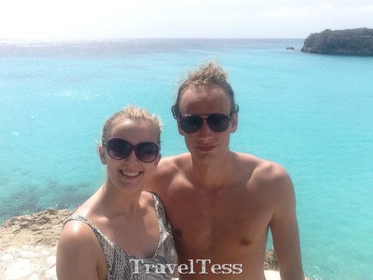 Selfie bij Grote Knip Curaçao