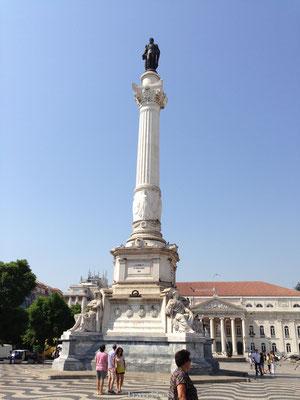 Standbeeld in Lissabon