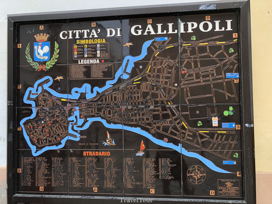 Plattegrond Gallipoli