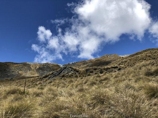 Wisselend klimaat Roys Peak