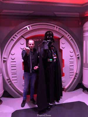Disneyland Parijs ontoeting met Darth Father