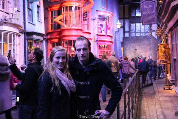 De Wegisweg Harry Potter Studio's