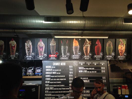 Chimney ijsje bestellen in Praag