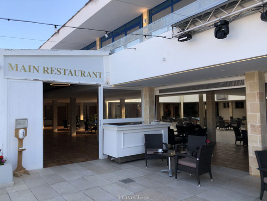 Main restaurant Robinson Club Apulia