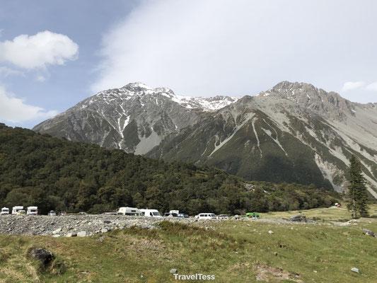 Mount Cook bergen