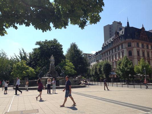 Plein in Frankfurt