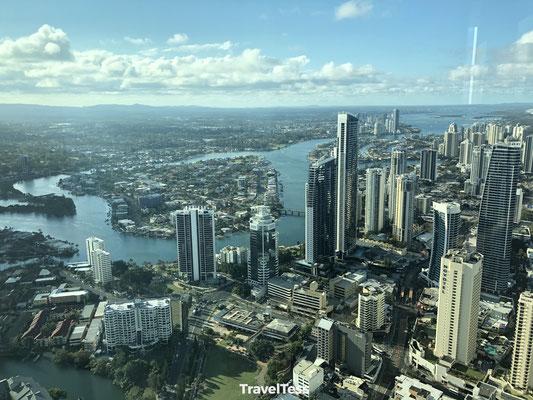 Gold Coast uitzicht