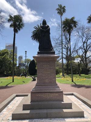 Standbeeld in Auckland park