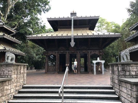 Aziatische tempel in Brisbane