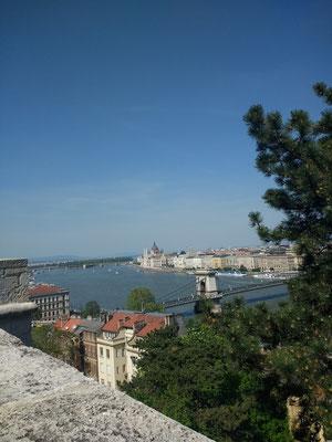 Uitzicht over de Donau