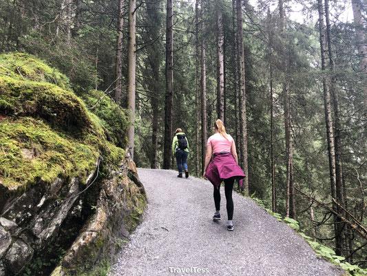 Hiken naar Krimmler Wasserfälle