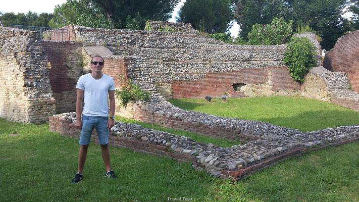 Romeinse overblijfselen in Rimini