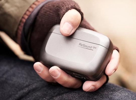 Caja recargable portatil