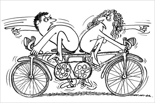 Wer weist die Richtung in der Ehe