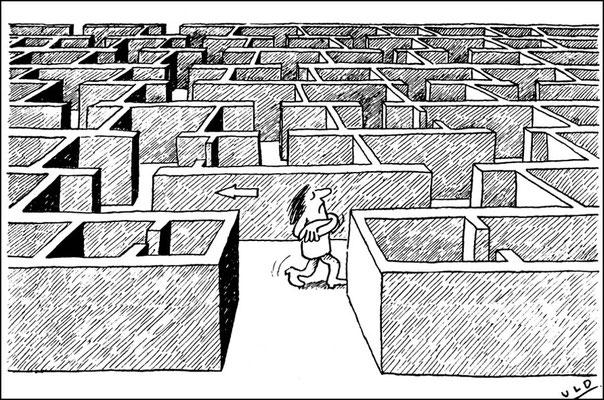 Das ist mein Weg durch das Labyrinth des Lebens