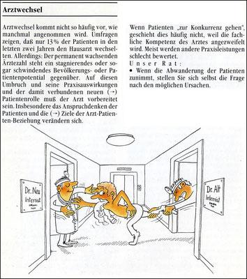 Arztwechsel