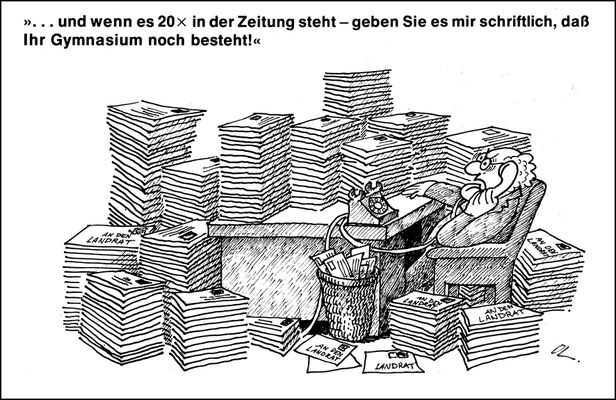 Bürokratie und Stadtentwicklung