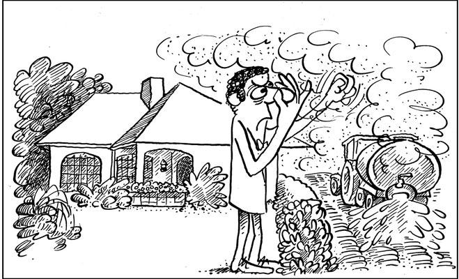 Bauboom auf dem Land und Konflikte mit der Landwirtschaft