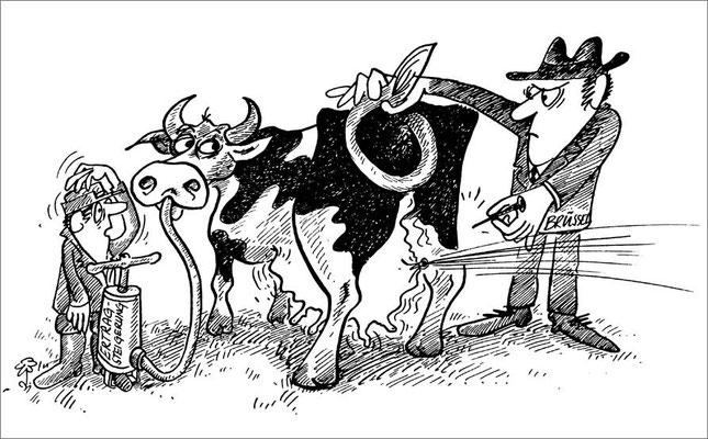 Einschränkung der Milchproduktion