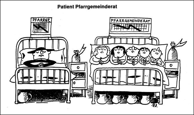 Patienten Priester und Pfarrgemeinderat, Land aktuell