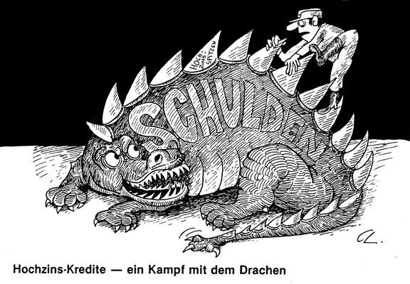 Schulden, Hochzins-Kredite