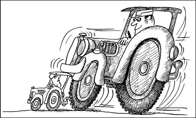 Nebenerwerbslandwirt, Land aktuell
