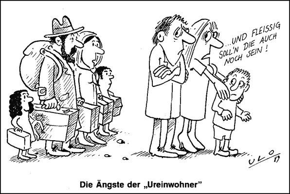 Die Ängste der Ureinwohner vor Flüchtlingen