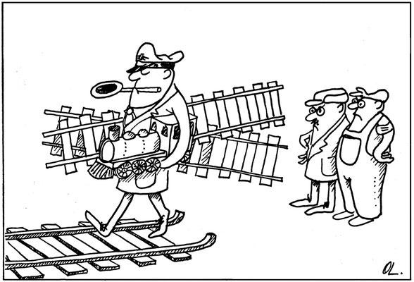 Streckenstilllegung der Bahn im ländlichen Bereich