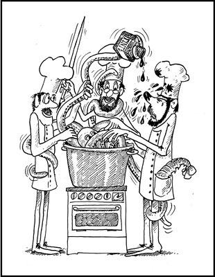 Tintenfischj kochen