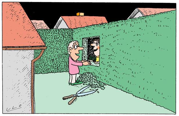 Kontakt mit den Nachbarn