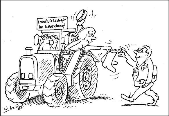 Landwirtschaft im Nebenberuf, Land aktuell