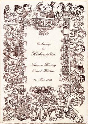 Hochzeitsfest, 1983