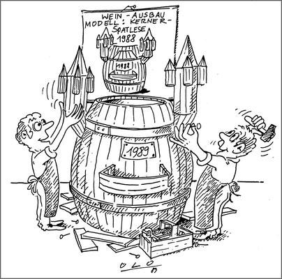 Ausbau des Weins