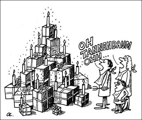 Geschenkeflut zu Weihnachten