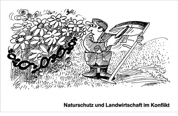 Naturschutz und Landwirtschaft im Konflikt
