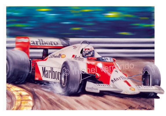 Alain Prost (50x65cm)