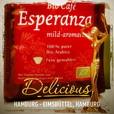 Esperanza in Hamburg - lecker Esperanza Kaffee!
