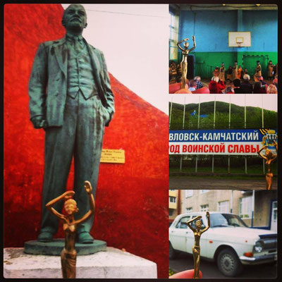 Esperanza in Kamschatka, mit Lenin