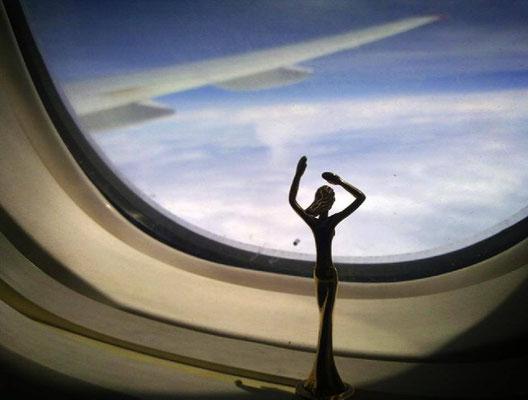 Esperanza im Anflug auf Bangkok