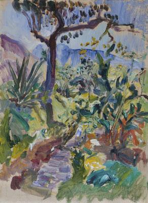 Der Garten in Teresópolis (1950-1956)