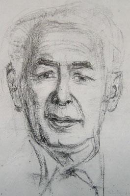 "Portrait ""Kultminister"" Theodor Heuss"