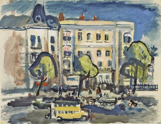 Straße in Berlin (1929-1931)