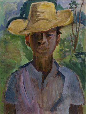 Portrait eines Mulatten mit Sombrero (1947-1950)