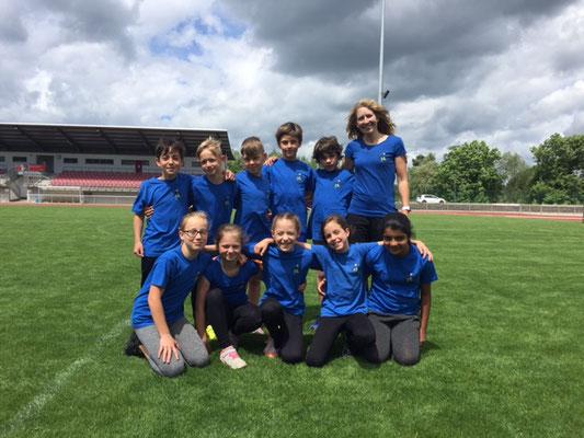 Unsere Schulmannschaft für das LA-Sportfest