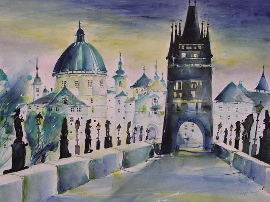 Die Karlsbrücke in Prag - Tschechien