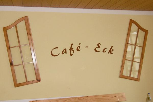 Das Café-Eck bekommt ein Gesicht.