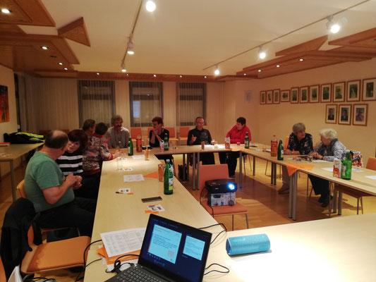 4. Treffen der Ehrenamtlichen aus Mllendorf und Hornstein