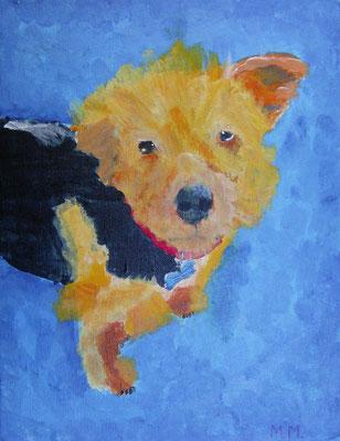 Dog, by Mariah, age 9
